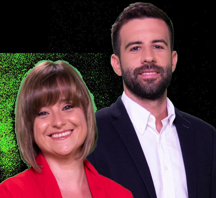Samuel Borja i Isabel Adam